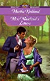 Miss Maitland's Letters by Martha Kirkland front cover
