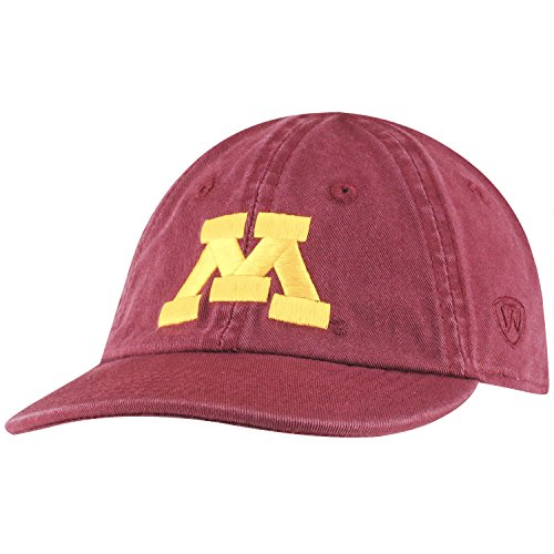Top of the World Minnesota Golden Gophers Infant Hat Icon, Maroon, Adjustable