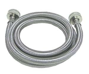 Watts WTS-SPL60-1212PB Stainless Steel Washing Machine Hose, 5-Foot