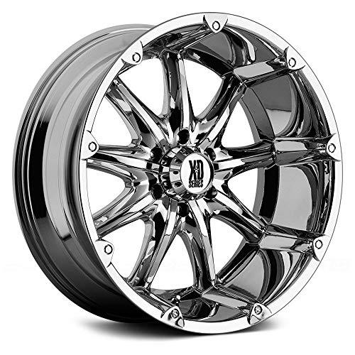 XD Series by KMC Wheels XD779 Badlands Chrome Wheel (20x9