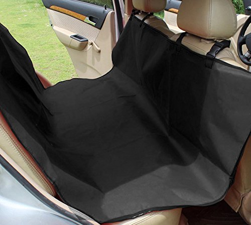 Black Washable Pet Seat Cover Cat Dog Car Mats 135  125CM Waterproof Dog Bed Seat Cover Rear Bench Blanket Beds Cushion Predector Pad GUORZOM