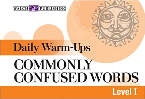 Amazon.com: Daily Warm-ups For Commonly Confused Words (Daily Warm ...