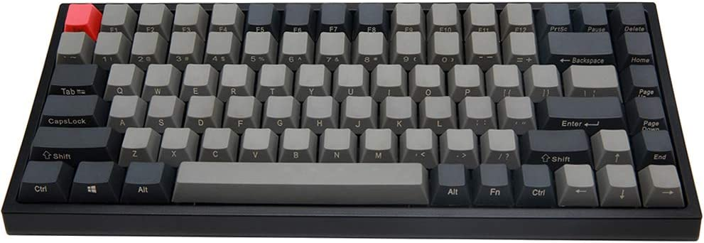 Teclado mecánico para Juegos Keycool Race 84 Mini Cherry MX Switch 80% Teclado sin Teclado Tenkeyless 84 Teclas