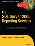 img - for Pro SQL Server 2005 Reporting Services book / textbook / text book