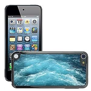 Cas Coq Case Cover // M00421550 Blue Water mediterránea Viajes Mar // Apple ipod Touch 5 5G 5th
