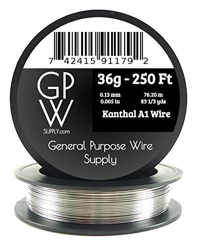 Price comparison product image GPW Supply - Kanthal 36g 250 ft Electronic Resistance Wire
