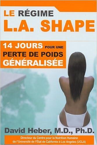 Livres Le Régime L.A. SHAPE pdf