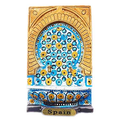 Parma Spain 3D Refrigerator Fridge Magnet Travel City Souvenir Collection Kitchen Decoration White Board Sticker -