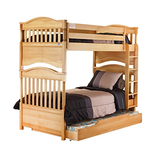 - Orbelle Trading Imperial Twin over Twin Bunk Bed Finish: Natural Wood