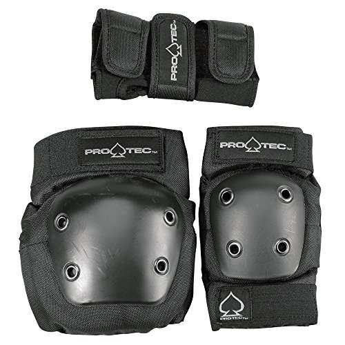 k Elbow, Knee, and Wrist Pad Combo - Black (Youth Small) ()