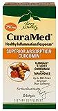 Terry Naturally CuraMed BCM-95 Curcumin -Better than Tumeric 750 mg 30 Softgels