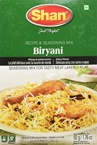 Shan, Mix Seasoning Biryani Masala, 1.76 Ounce