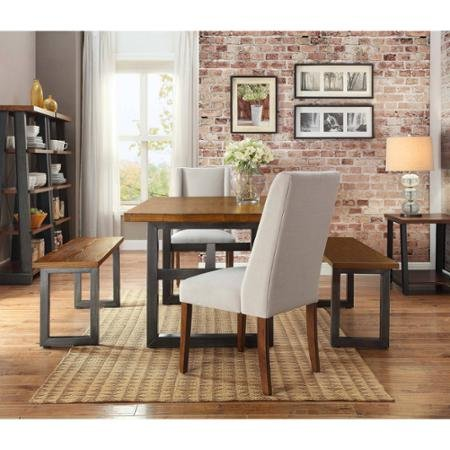 Home furniture gallery - Better homes and gardens mercer dining table ...