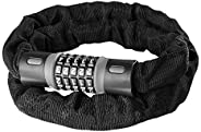 Bike Lock Combination 5 Digit, Heavy Duty Security Anti-Theft Bicycle Chain Lock,Universal for Kids & Adul