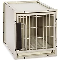 ProSelect Steel Modular Kennel Pet Cage, Small, Sandstone