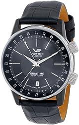 Vostok-Europe Men's 2426/5602059 Gaz-14 Limo Automatic Black Dial Watch