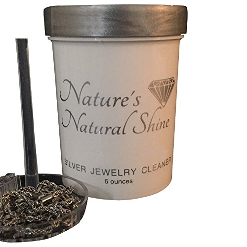 Nature's Natural Shine| Silver Jewelry Cleaner| Silver, Sterling Silver, Coin Jewelry Cleaner|Organic