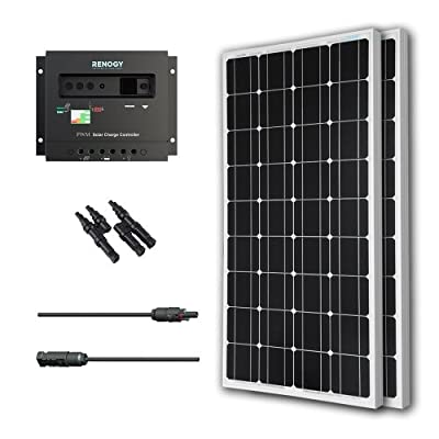 Renogy 200 Watt 12 Volt Solar Bundle Kit