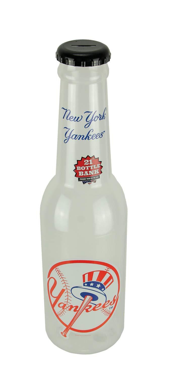 Maurice Sporting Goods MLB New York Yankees Jumbo Bottle Coin Bank 21 inch Tall