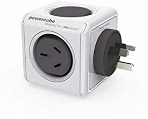 Allocacoc 5200GY/AUOUPC Powercube Original USB Grey- 2 Outlets