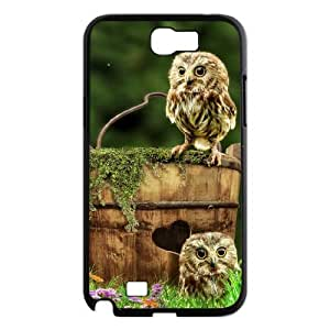 Owl Use Your Own Image Phone Case for Samsung Galaxy Note 2 N7100,customized case cover ygtg526897