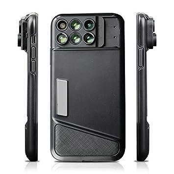 Babiken - Carcasa para iPhone X con 6 lentes para cámara de ...