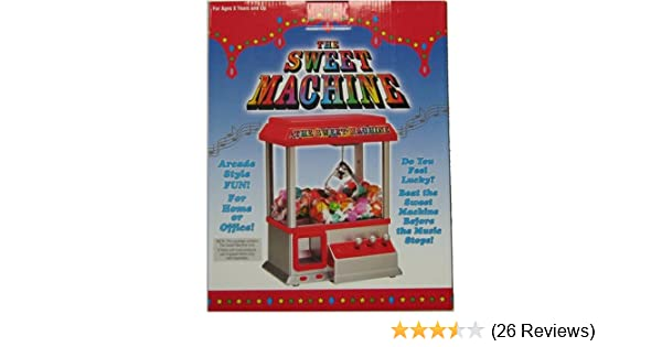 Amazon.com: SWEET MACHINE Candy Arcade GAME Toy CLAW Children NEW: Toys & Games