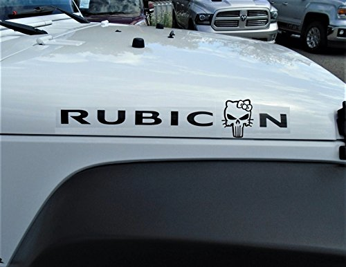 hello kitty car hood decal - 2