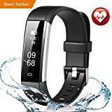 FITMAKER Fitness Tracker, Activity Tracker Watch with Heart and Sleep Monitor, Smart Pedometer Watch for Step Distance Calories Track