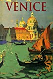 """Venice the Grand Canal Gondola Architecture Northern Italy Italia Italian Europe Travel Tourism 14"""" X 20"""" Image Size Vintage Poster Reproduction"""