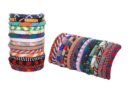 12 Random Handmade Nepal Bracelet