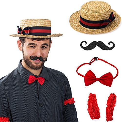 Tigerdoe Barber Costume - Carnival Costume - Barbershop Quartet Costume - 1920 Costumes