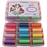 Aurifil Large Thread Set ME AND MY SISTER EVERYDAY COLOR COLLECTION 50wt Cotton 12 Large (1422 yard) Spools