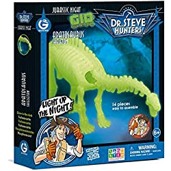 Geoworld Jurassic Night Apatosaurus Toy, Glow In The Dark