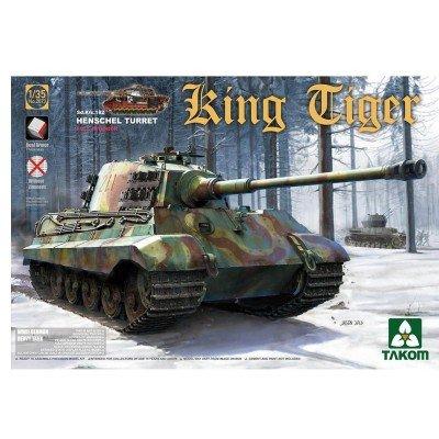 (Takom 1/35 Sd.Kfz.182 King Tiger Henschel Turret with interior (without Zimmerit) No. 2073)