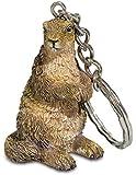 Porte clé figurine Marmotte