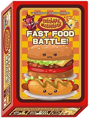 MIXIN Catchup and Mousetard: Fast Food Battle - Juego de Mesa ...