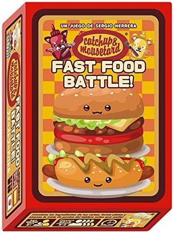 MIXIN Catchup and Mousetard: Fast Food Battle - Juego de Mesa [Castellano]: Amazon.es: Juguetes y juegos