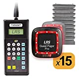 Guest Pager System Kit with 15 Pagers