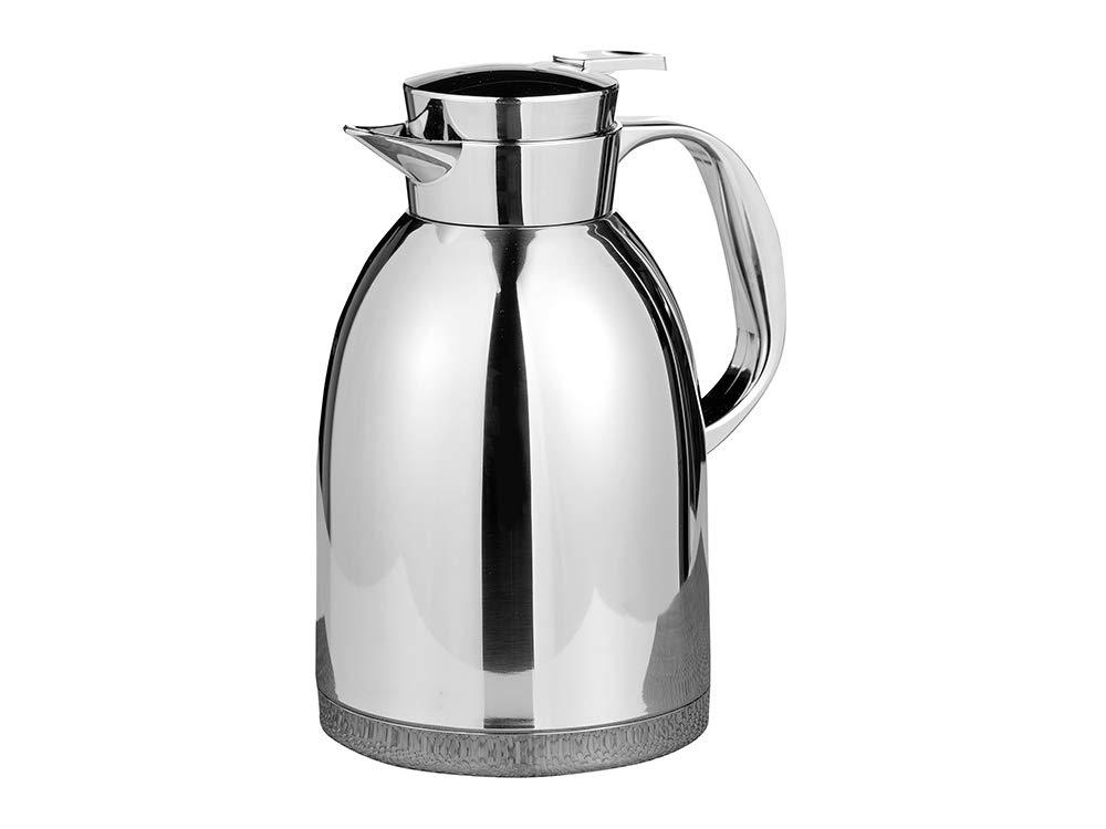 Esmeyer Maestro - Caraffa termica MAESTRO 1,8 litri in acciaio inox 18/8 infrangibile con base in acciaio inox, altezza: 245 mm Esmeyer GmbH & Co. KG 305-006 caraffa caffè caraffa isotermica uso con una mano