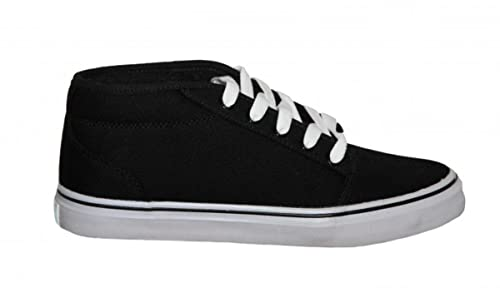 f98ac7363ecb41 Adio Skate Shoes Sydney Mid Black  White Sneakers shoes