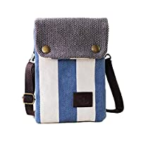 Women Cute Candy Crossbody Bag / Cellphone Purse / Mini Shoulder Bag / Cellphone Pouch, WITERY Canvas 4 Bags Small Wallet with Adjustable Shoulder Strap