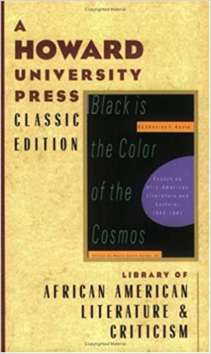 Amazoncom Black Is The Color Of The Cosmos Essays On Afro  Amazoncom Black Is The Color Of The Cosmos Essays On Afroamerican  Literature And Culture   Charles T Davis  Term Paper Essay also Essay In English  Writing Help Com Review