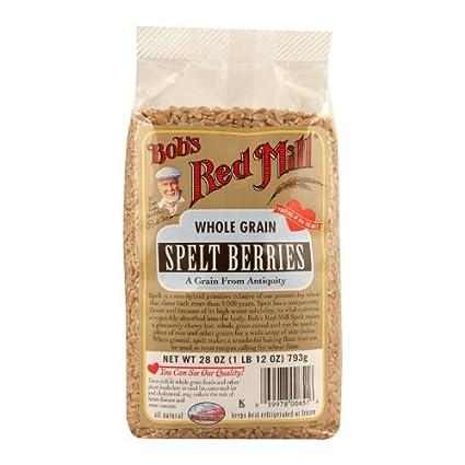 De Bob Red Mill Whole Cereales Espelta Bayas (2 x 28oz ...