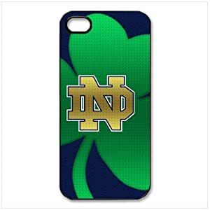ebaykey Custombox NCAA Notre Dame Fighting Irish Best Durable Silicone Case Cover for iphone 4 4S