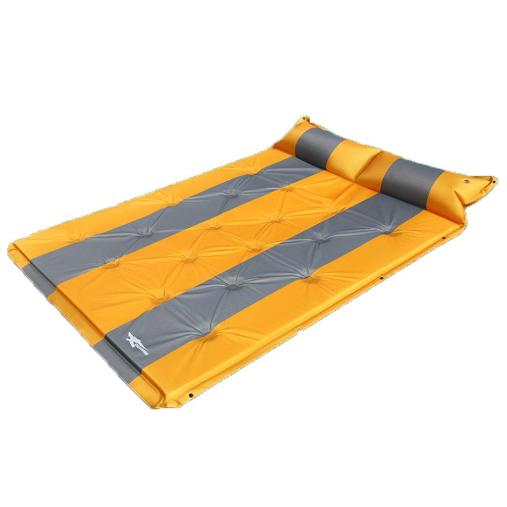 車のインフレータブルベッドカートランクベッド睡眠パッド旅行エアベッド B07F8S16MX Orange Orange