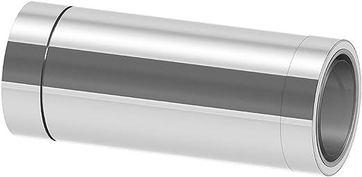 Edelstahlschornstein Wanddurchf/ührung 500 mm DW 130 k/ürzbar mit Wandfutter