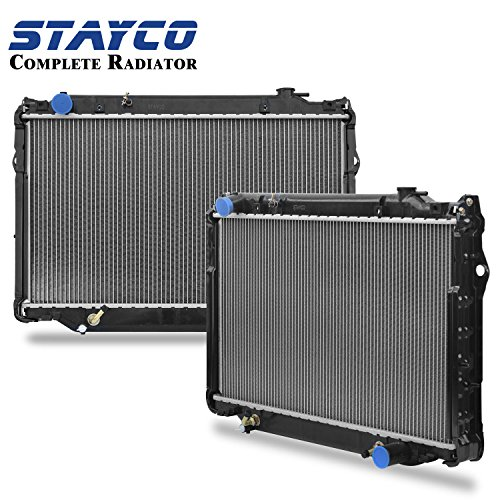 STAYCO 2-Row Radiator 1917 for 1993-1997 Toyota Land Cruiser, 1996-1997 Lexus LX450, 4.5L L6 (Radiator Toyota Land Cruiser compare prices)