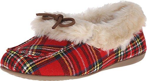 Vionic Womens Cozy Juniper Moc Toe Shearling Slipper Shoe...