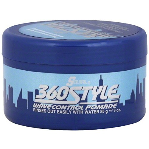 Lusters S-Curl 360 Wave Control Pomade 3 Ounce
